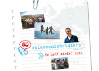 Start #klassenfahrtdiary 2015