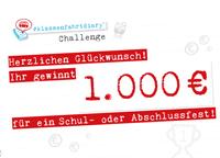 Gutschein #klassenfahrtdiary Challenge