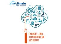 """Nehmen sie an unserem Projekt """"myclimate"""" teil und werden Sie Energie- und Klimapioniere"""